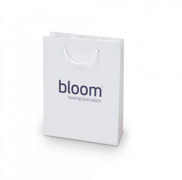 Bloom custom printed laminated paper bag