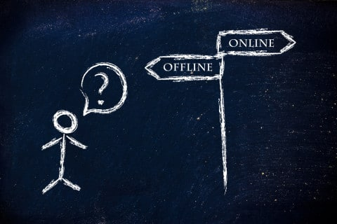 offline online marketing