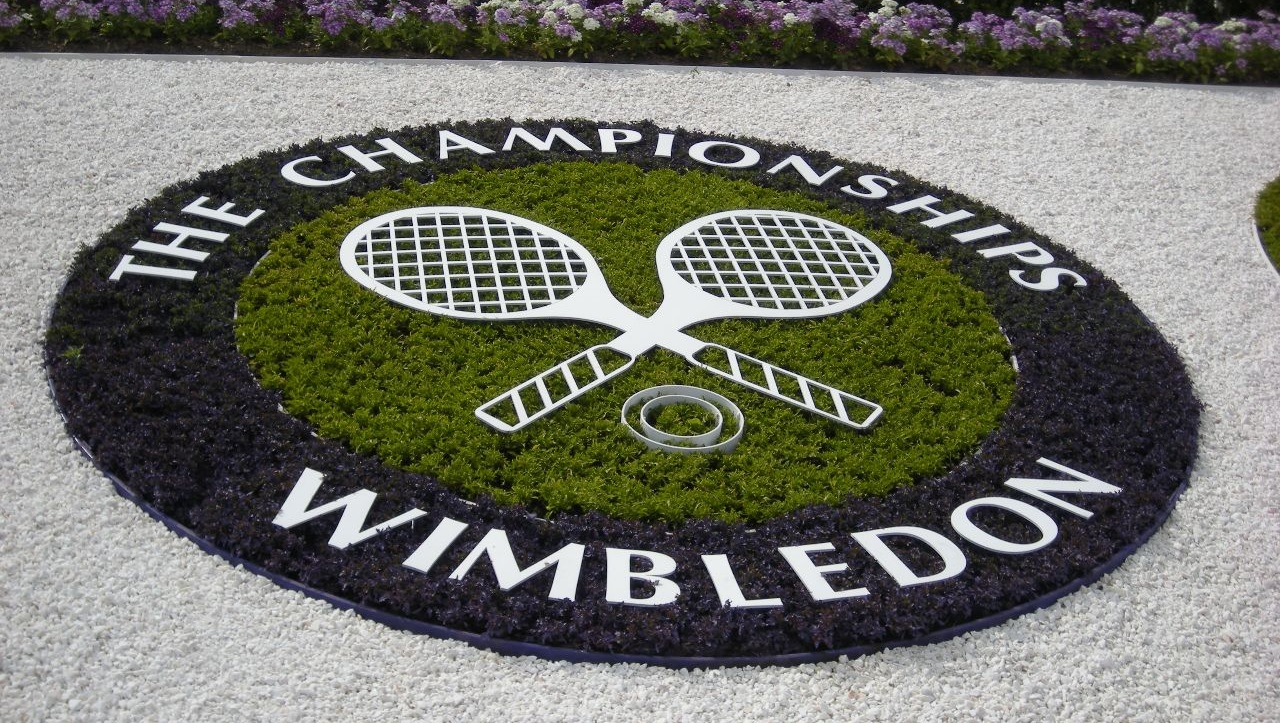 Image result for Wimbledon Tennis pic logo