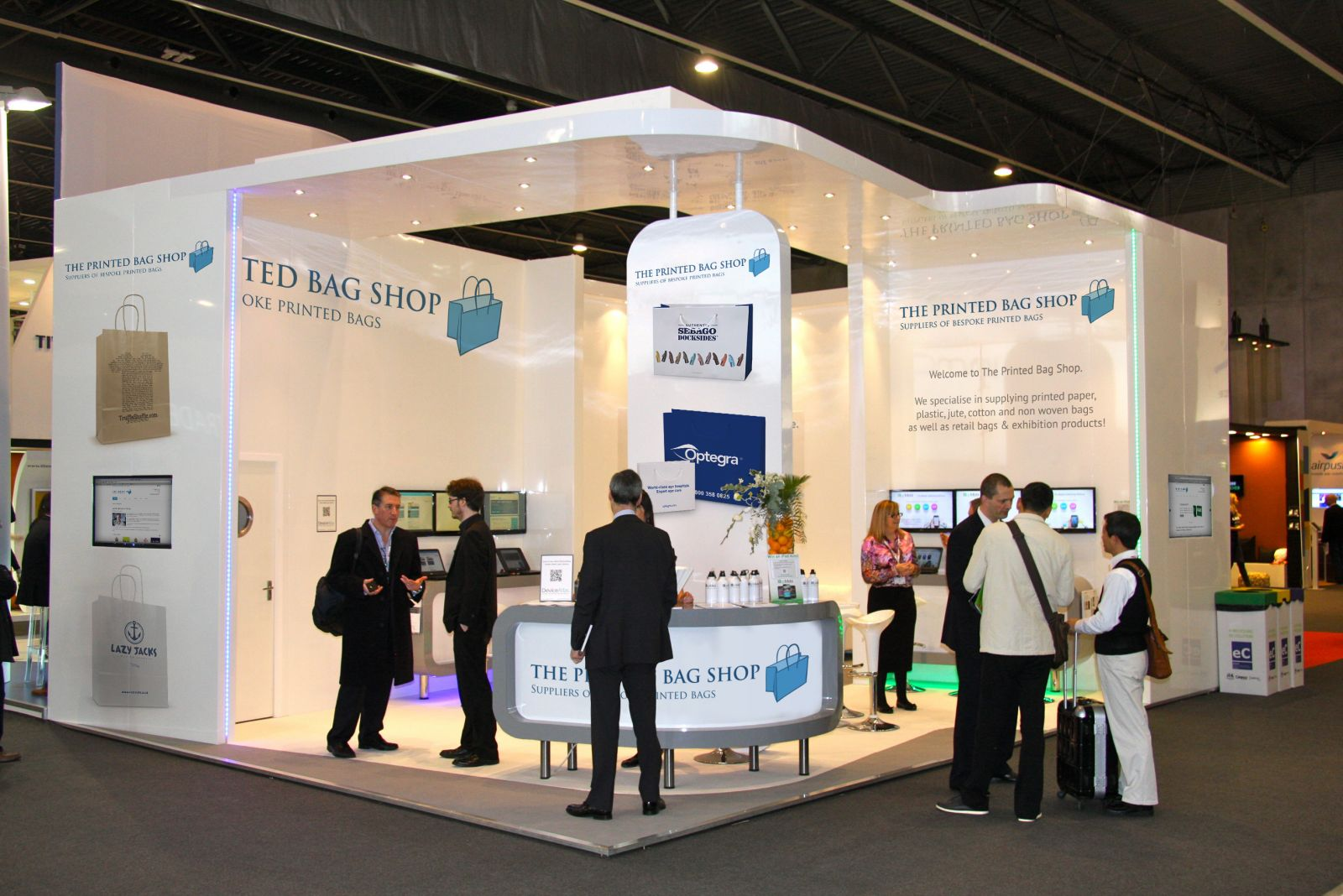 Best Exhibition Stand Design : Top trends for exhibition stand designs the printed bag