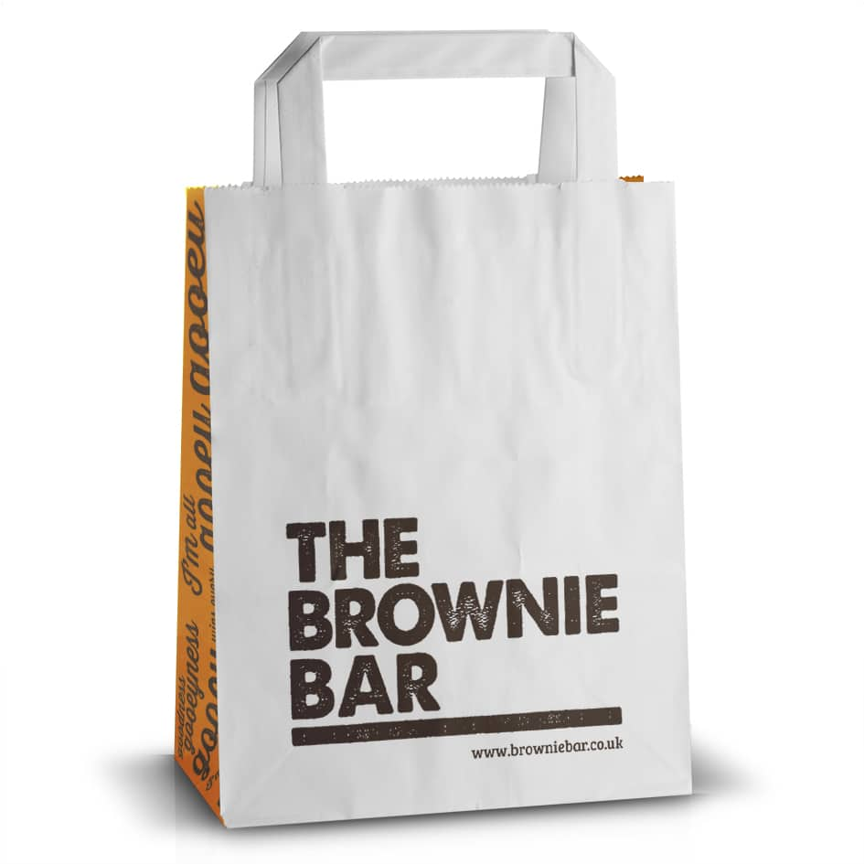 The Brownie Bar Kraft Bag