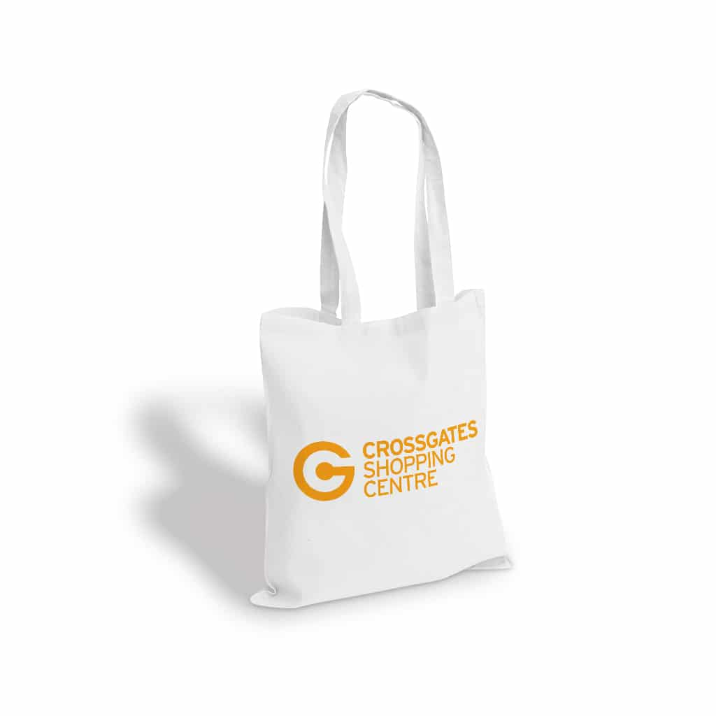 Crossgates Shopping Centre reusable printed tote bag