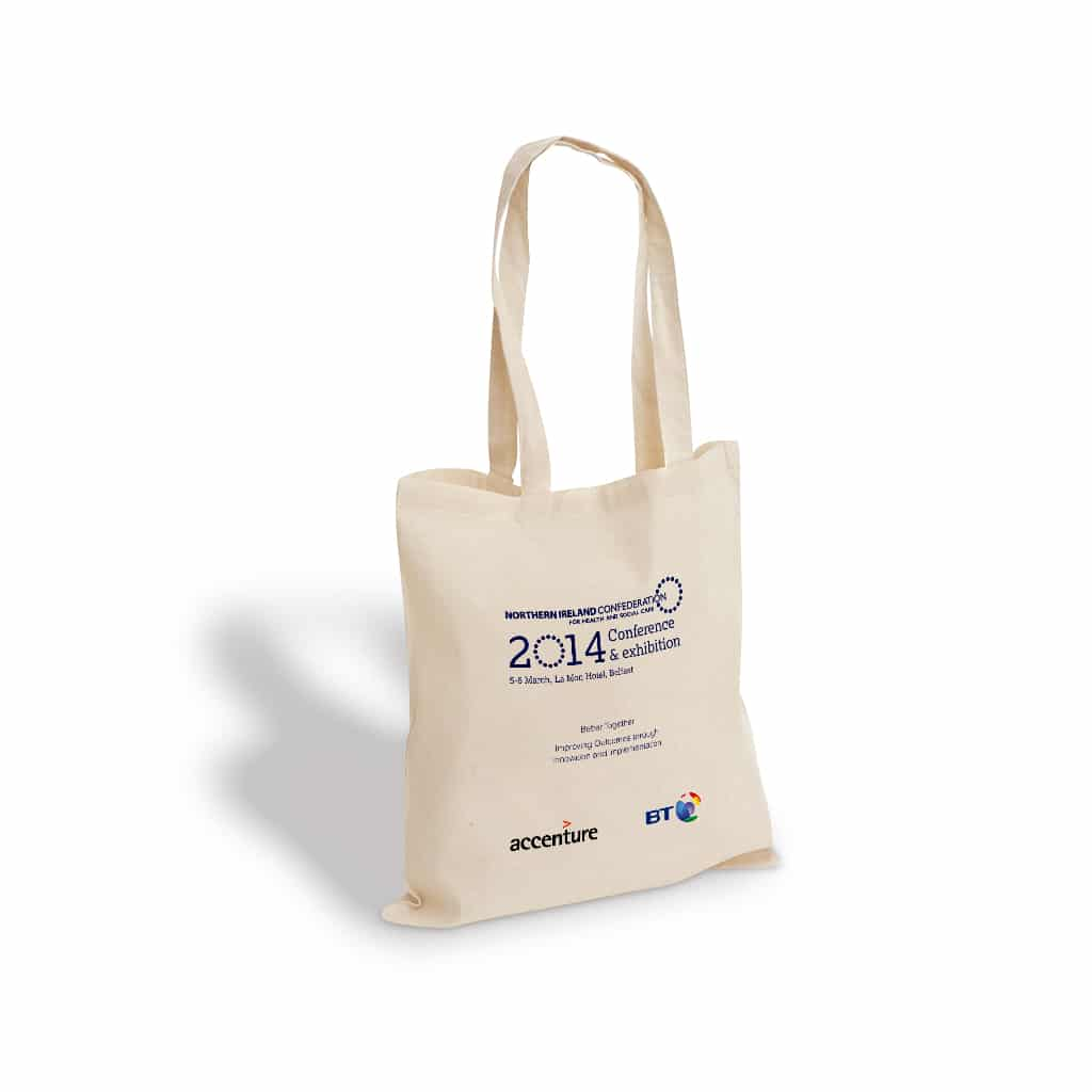 Northern Ireland Confederation printed cotton bag