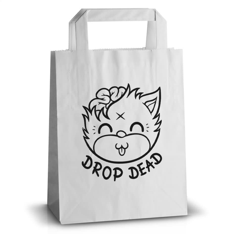 printed paper carrier bag
