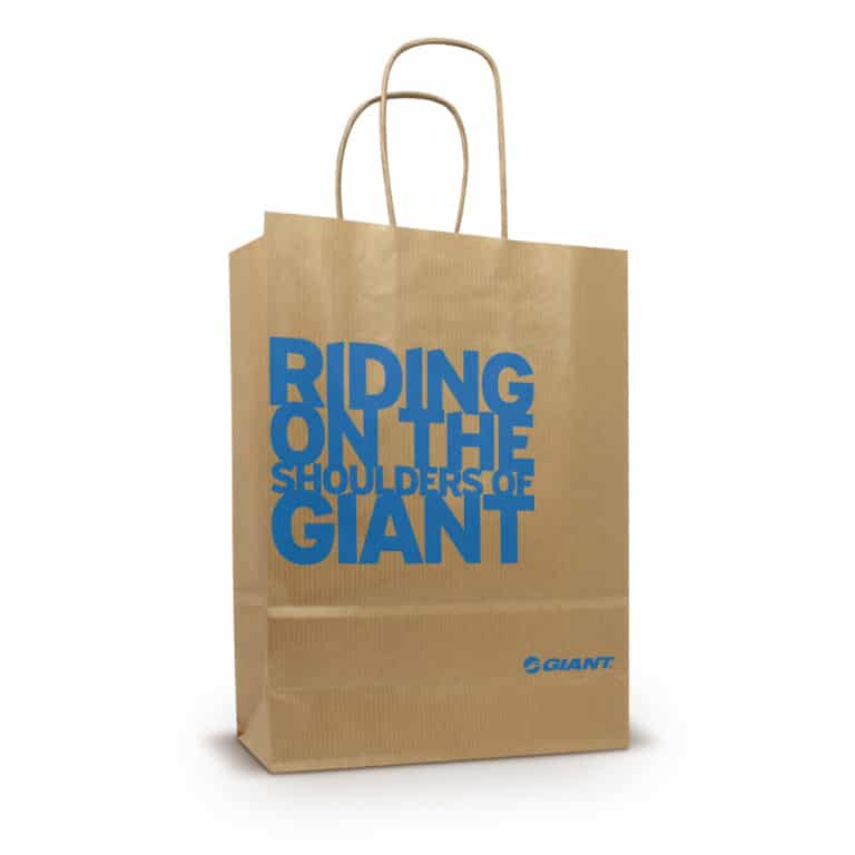 custom paper bags with logo Custom paper bags - white special pricing promotional bags promotional bags can be an effective way to get your company logo in front or more people.