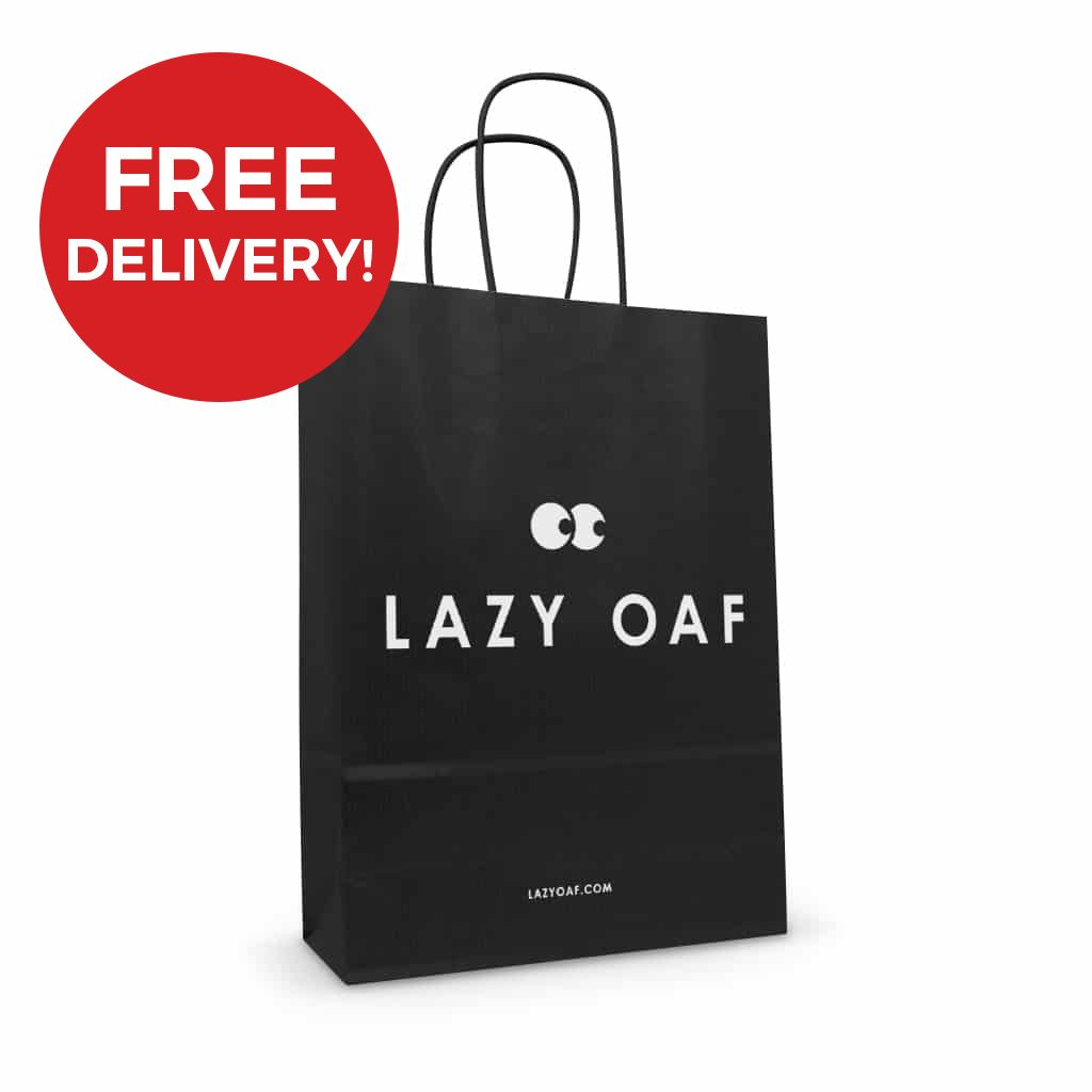Free delivery on printed paper bags