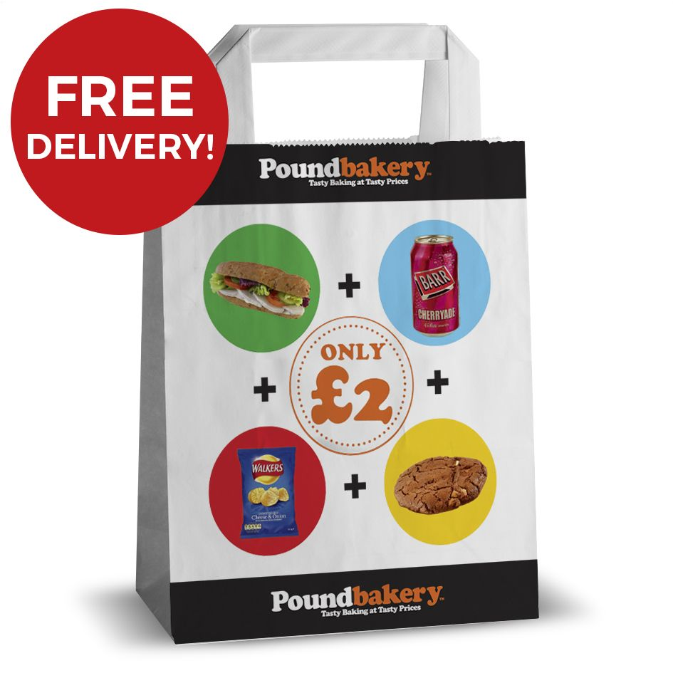 free delivery on printed paper carrier bags