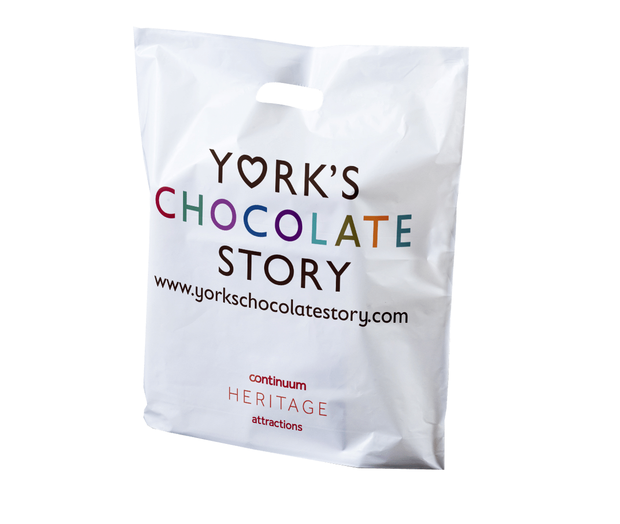 York's Chocolate Story Printed Exhibition Bag