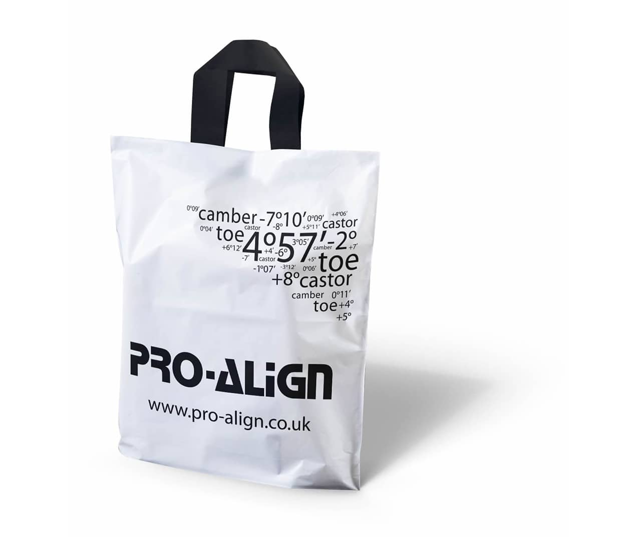 printed flexi loop plastic bags