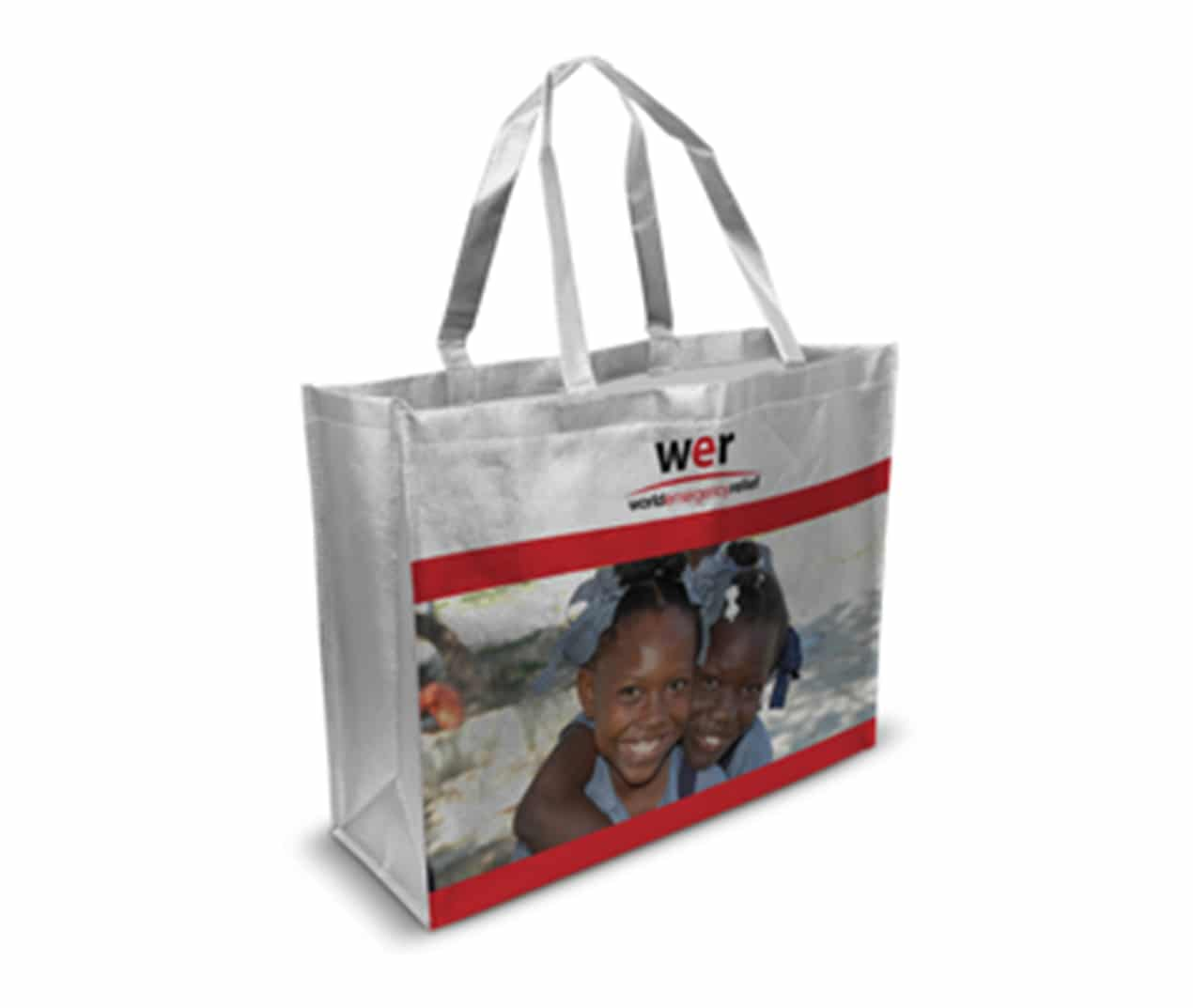 printed laminated woven bags