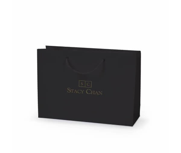 Stacy Chan custom printed laminated paper bag