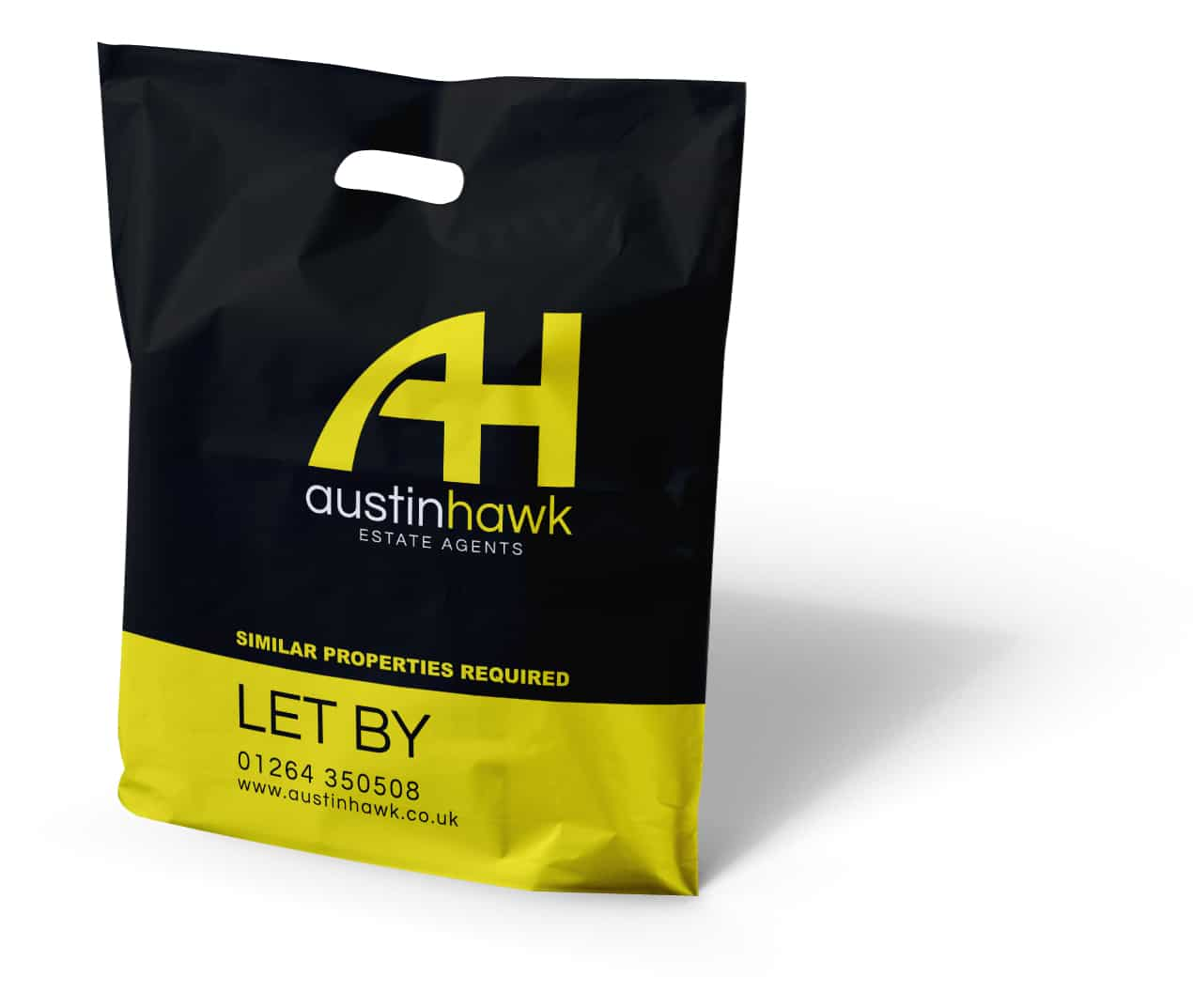 Austin Hawk Printed Exhibition Bag