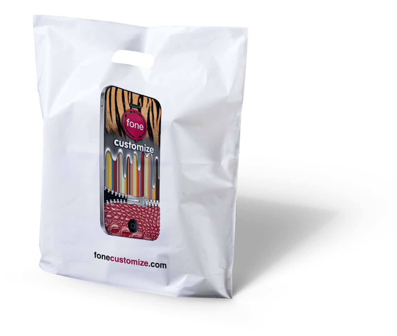 printed patch handle bags