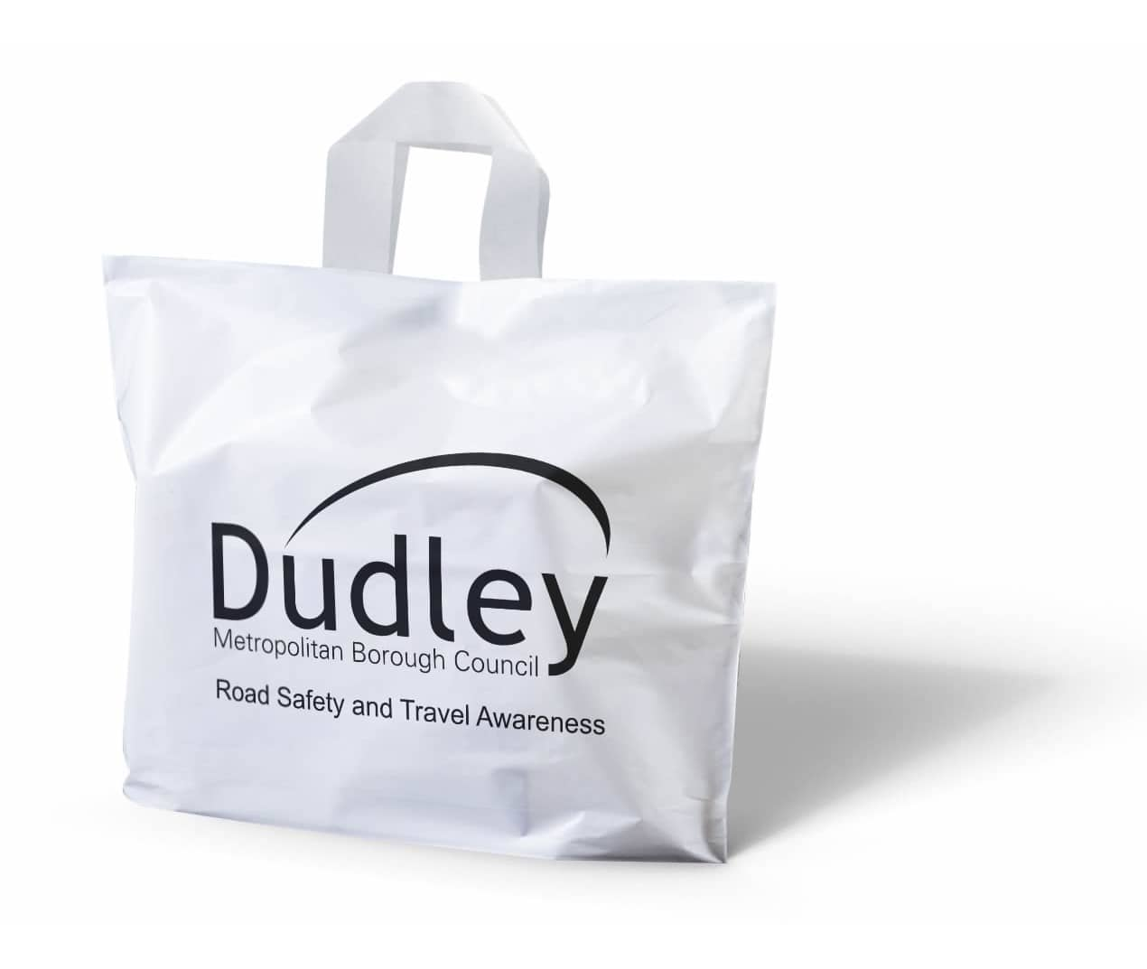 Dudley large printed carrier bag