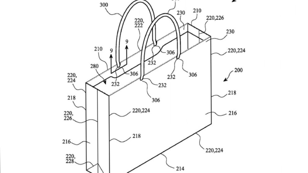 apple paper bag patent