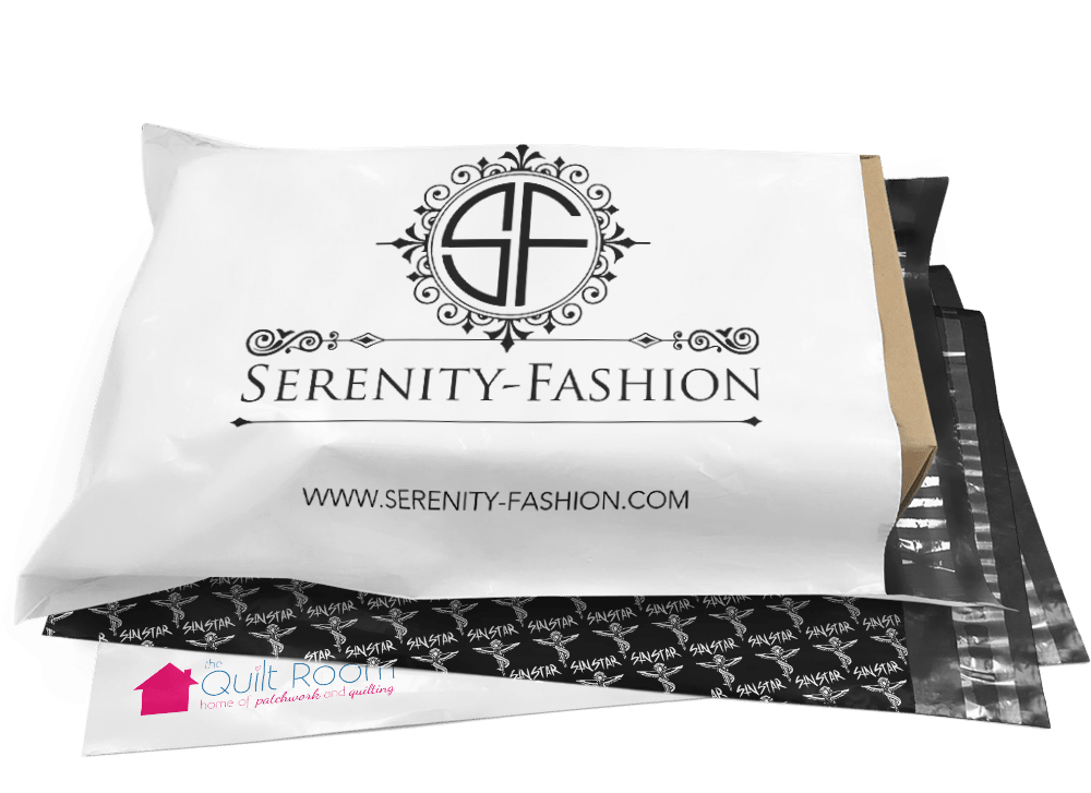 serenity fashion printed mailing bag banner