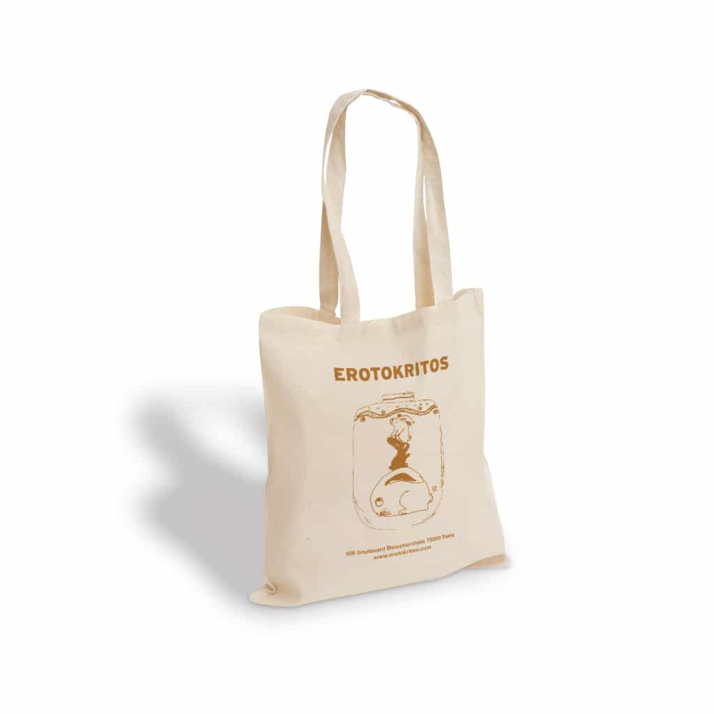 Erotokritos printed cotton bag