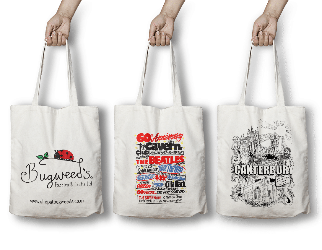 Branded Printed Cotton Bags