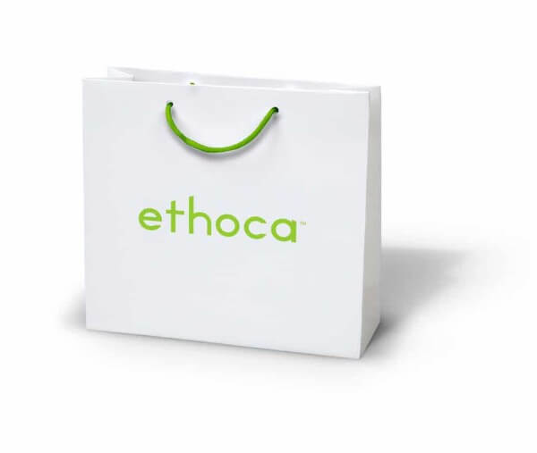 Ethoca custom printed laminated bag