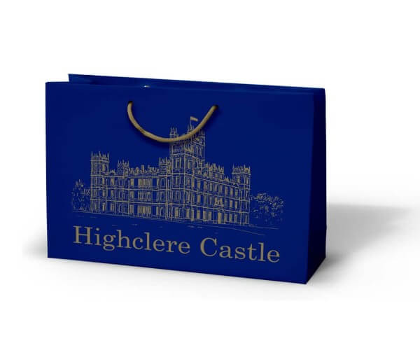 Highclere Castle custom printed laminated bag