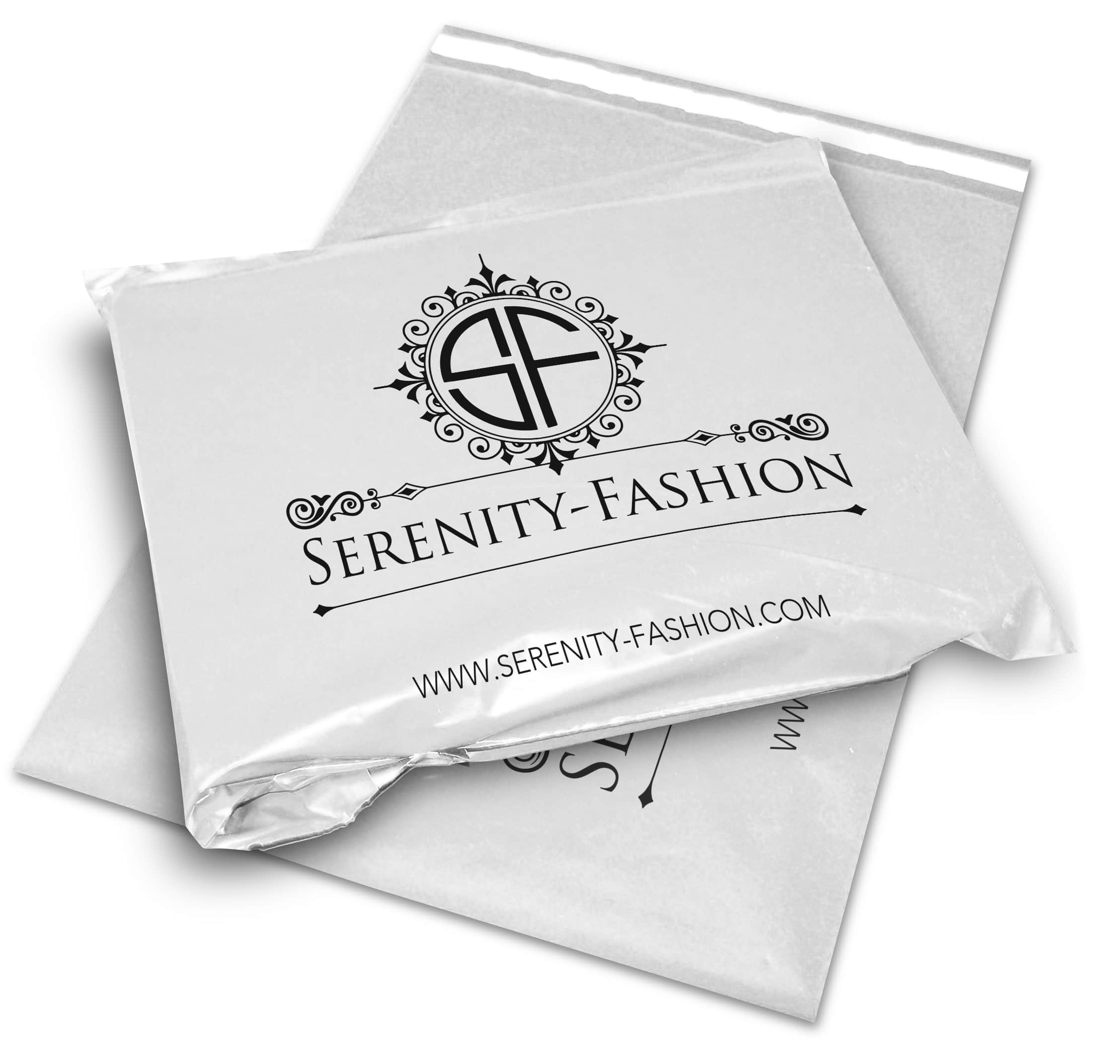 serenity fashion printed mailing bags