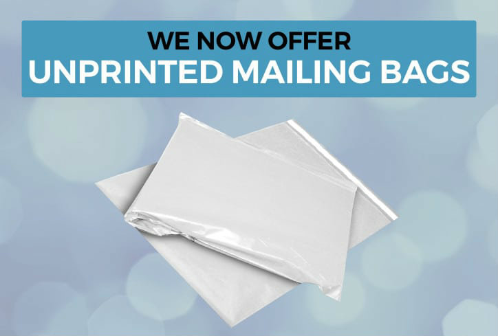 unprinted mailing bags