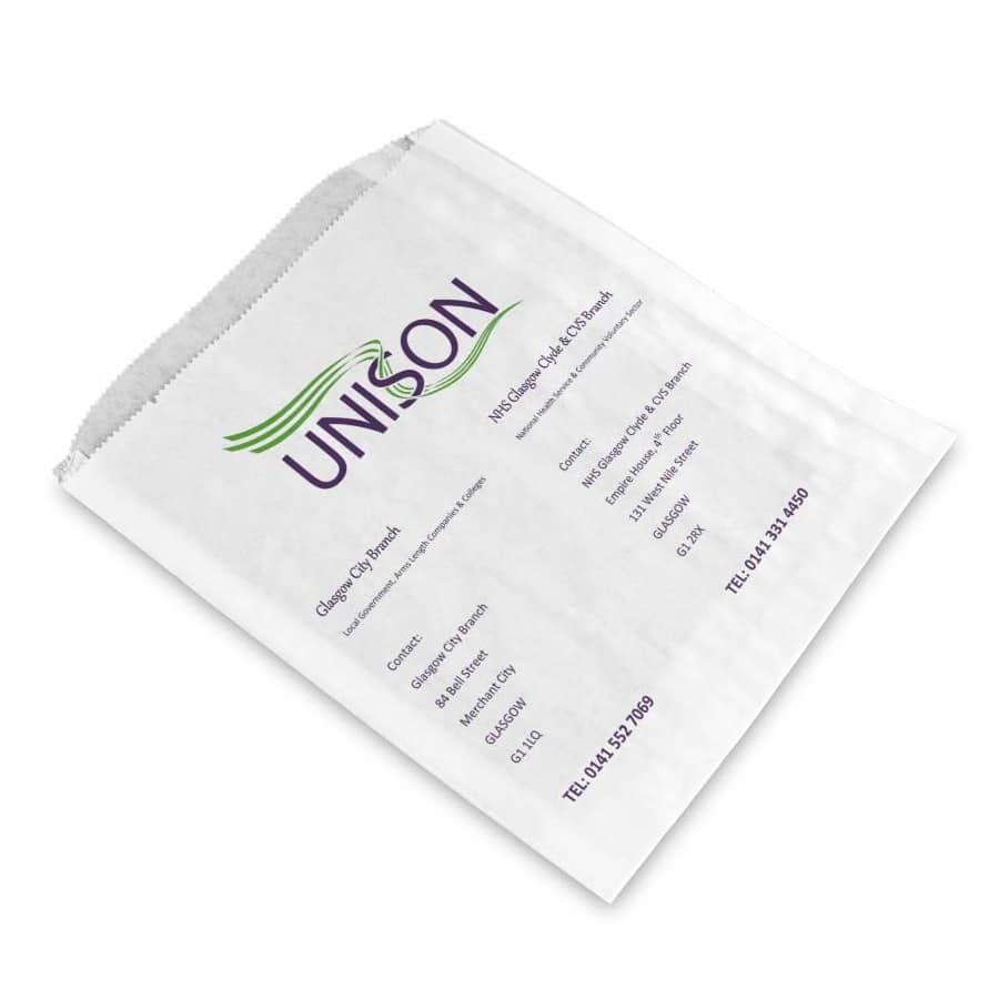 unison printed sandwich bags