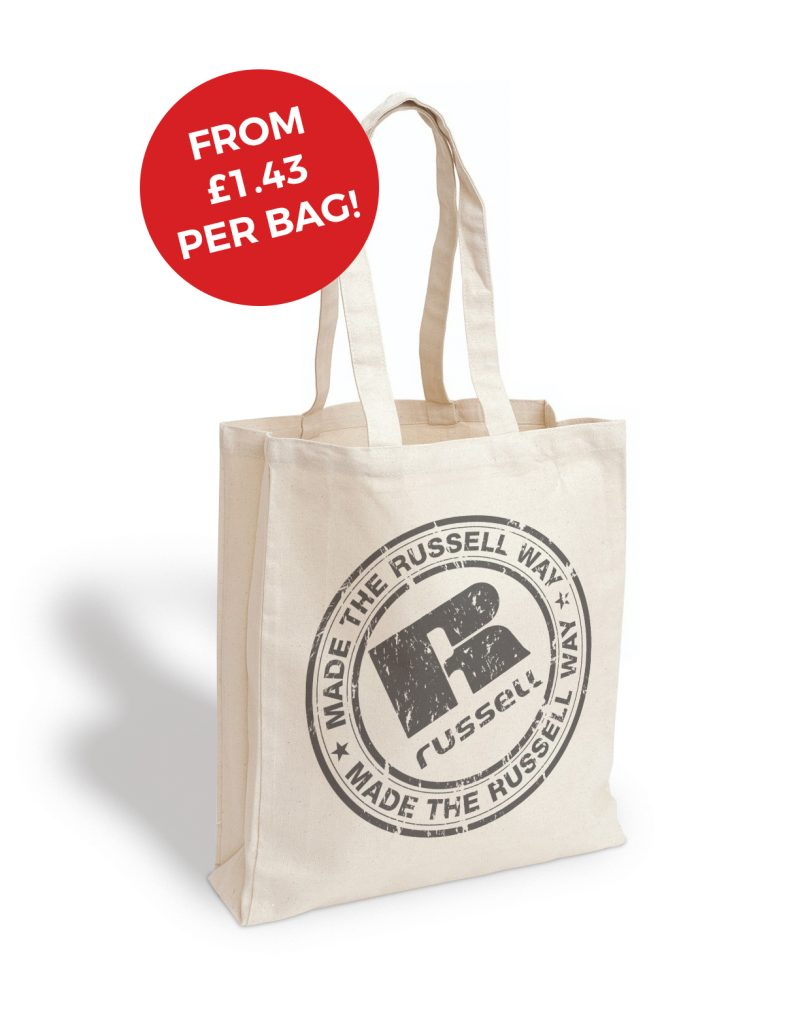 russell printed canvas bags