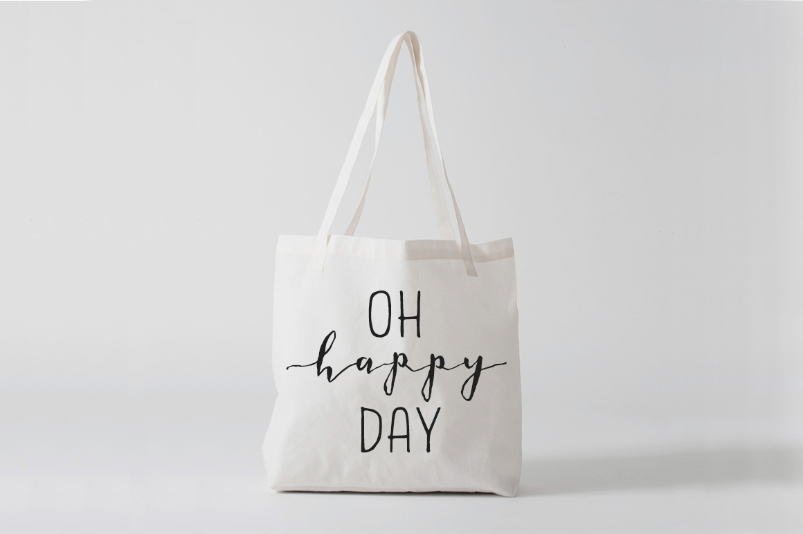 Handwriting in Bag Design