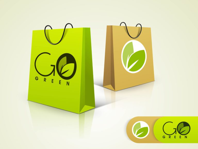 Image of Eco-friendly paper bags