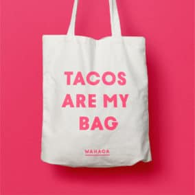 Wahaca Printed Bag