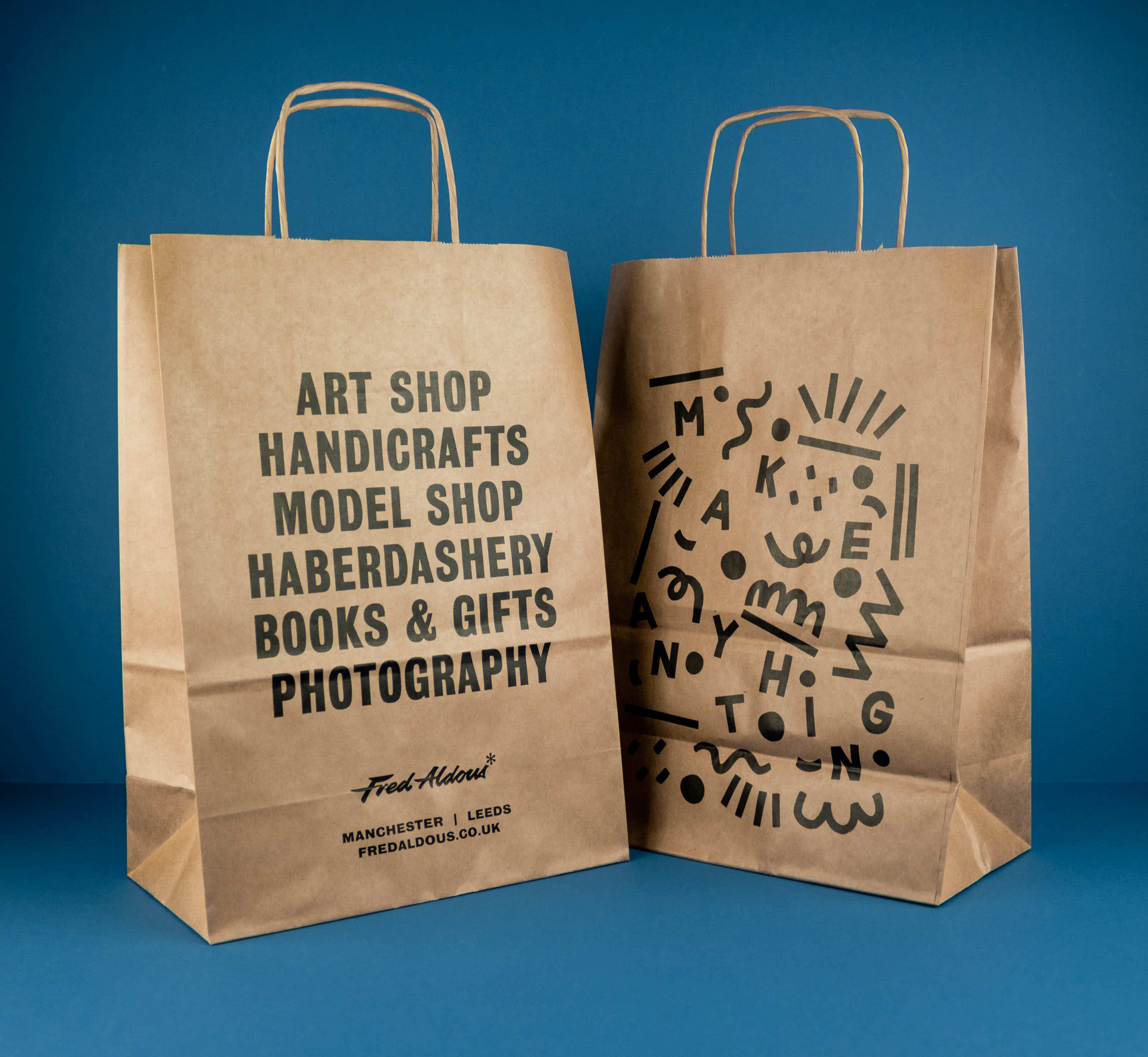 fred aldous paper bags