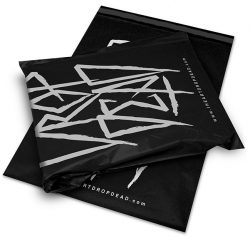 Drop dead black mail bag