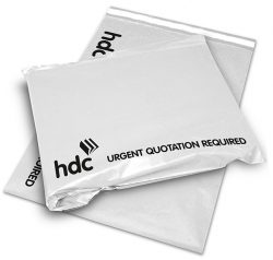 HDC white mail bag