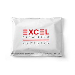 Excel detailing supplies white mail bag
