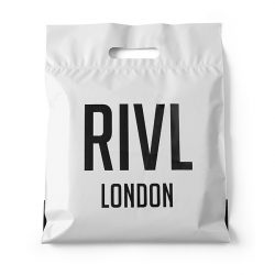 RIVL london white patch handle bag