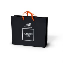 New balance black paper bag