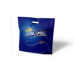 Kingsmill blue punched handle bag
