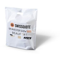 Swissquote punched handle bag