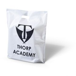 Thorp academy punched handle bag