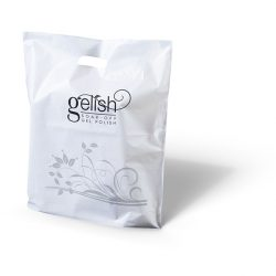 Gelish white punched handle bag