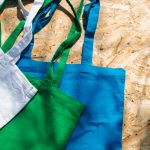 Printed Cotton Bags in Different Colours