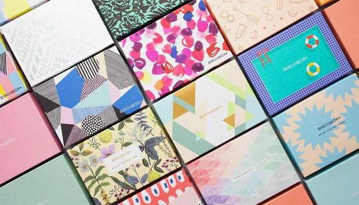 Subscription Boxes Printed Packaging