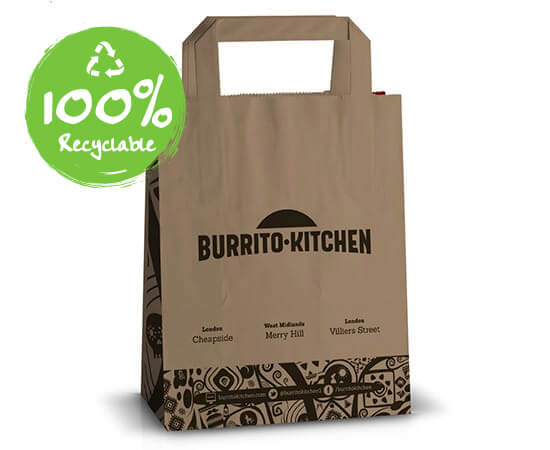 Printed-Flat-Handle-Takeaway-Bags